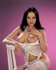 Big boob brunette...