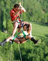 Adventure sports...