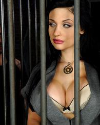 Hot glamour babe...