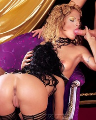 Horny Bblonde and...
