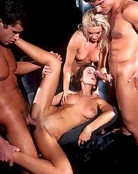 Three horny...