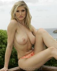 Sexy blonde big...