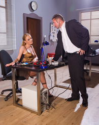 A secretary in...